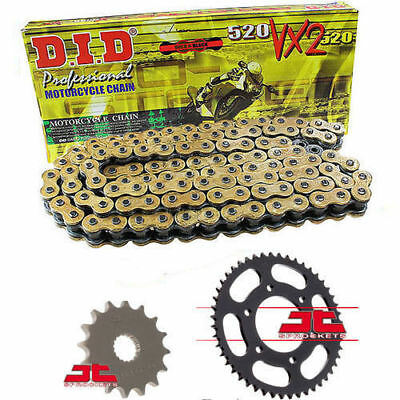 BMW 650 Xcountry K15 2007-08 DID GOLD VX2 X-Ring Chain & Sprocket Kit