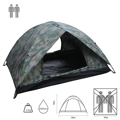 Summer Hiking Dome Couple 2-4 Berth Easy Pitch Double Layer Outdoor camping Tent