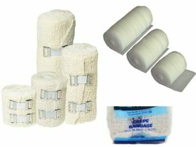 Q-Care PREMIUM CREPE/CONFORMING/COHESIVE BANDAGE Medical Sprains Joint Support