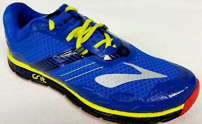 49ebedf595f New Men s Brooks PureGrit 6 Trail Shoes - Size 9 - Electric Blue Lime Punch