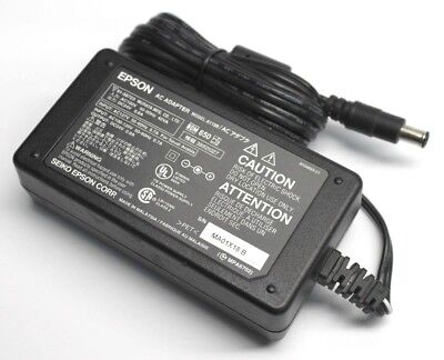 Genuine Epson A110B Printer Scanner AC Adapter DC24V 0.8A Power Supply for A171B