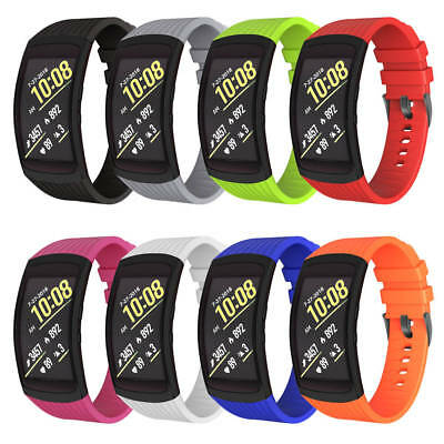 Luxury Replacement Silicone Watch Band Strap for Samsung Gear Fit 2 & Fit 2 Pro