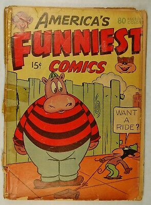 America's Funniest Comics nn #1 (1944, William Wise) Tommy Time Traveler