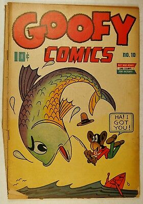 Goofy Comics #10 (Aug 1945, Nedor Publications) Uncle Pigly - Zomby & Bomby