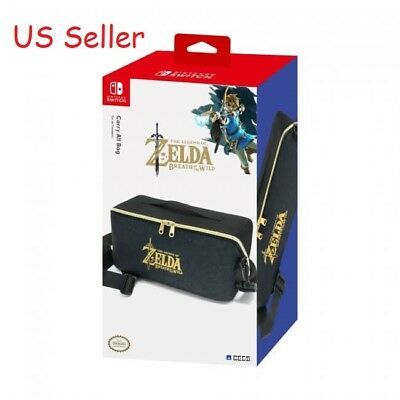 HORI Carry All Bag Travel Case Officially Licensed for Nintendo Switch  Zelda