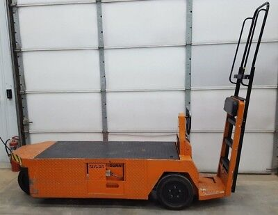 Taylor Dunn SC1-75 24V Stock Chaser Large Flatbed Electric Cart 1700lb. Capacity