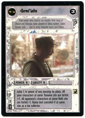 Star Wars A New Hope Limited LS Uncommon Decipher 1996 CCG Card Tzizwt C1821