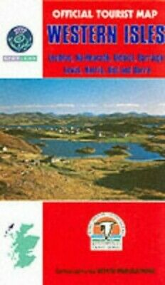 Western Isles (Official Tourist Map) Paperback Book The Cheap Fast Free Post