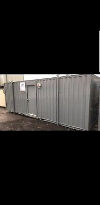 24ft Portable Cabin Site Welfare Unit Portable Office Shipping Container