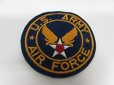 "WWII US Army Air Force jacket patch 4"" dia."