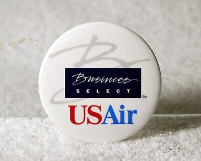 Vintage US Air Airways Airline Business Select Badge