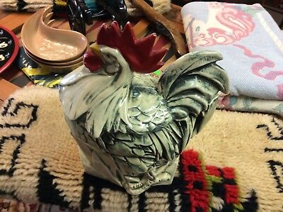 Vintage Rooster Cookie Jar