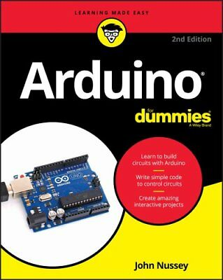 Arduino For Dummies by John Nussey 9781119489542 (Paperback, 2018)