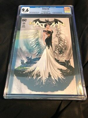 Batman #50 Natali Sanders Cms Exclusive Variant Cover (A) Cgc 9.6 Nm+ 🔥