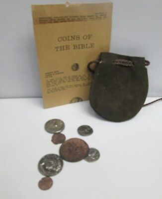 Coins Of The Bible Commemorative Set With Pouch