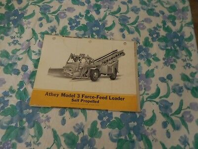 1946 Athey Model 3 Force-Feed Self-Propelled Loader Sales Brochure