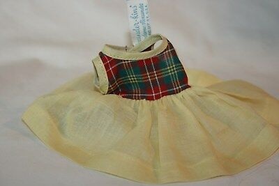 Vintage 1950's Madame Alexander-Kins Tagged Doll Dress & Shorts Never Worn NR
