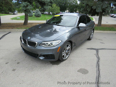 2015 BMW 2 Series M235i xDrive M235i xDrive 2 Series Low Miles 2 dr Coupe Automatic Gasoline 3.0L STRAIGHT 6 Cy
