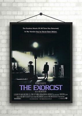 The Exorcist Vintage Classic Horror Movie Poster Art Print A0 A1 A2 A3 A4 Maxi