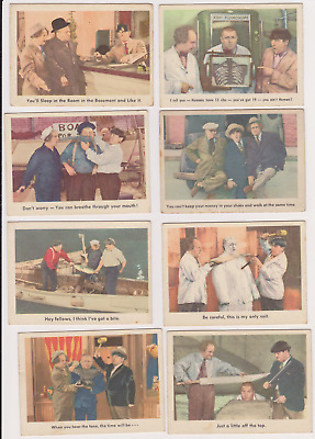 CLEAN CARDS 1959 Fleer THREE STOOGES PICK ONE /MULTIPLE CARDS NO CREASES NICE