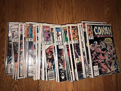 Fifty-One  Conan  Comic  Books  ---  Free  Shipping