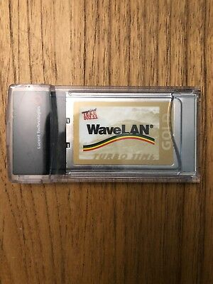 GOLD Lucent Wavelan Orinoco PCMCIA PC Card 802.11b Mac Win PC24E-H-FC