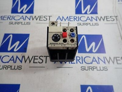 OLR1600CSI Siemens Allis 3 pole Overload Relay  600V 10-16 amp Range No wire*
