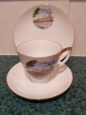 Souvenir Cup Saucer & plate (TRIO) 1950s Old Federal Parliament House Canberra