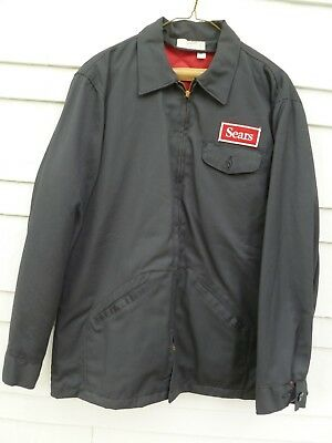 Vintage Sears Department Store Employee JACKET Gas Station Attendant NEW 42