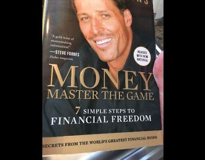 MONEY Master the Game: 7Simple Steps to Financial Freedom Paperback Tony Robbins