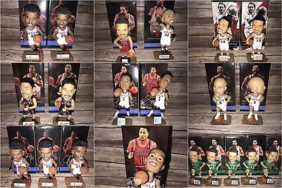 Lot of 21 Chicago Bulls Stadium Giveaway Bobble heads from 2012-2015 Seasons