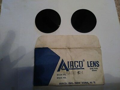 Vintage Welding  Lenses #5 Airco goggles
