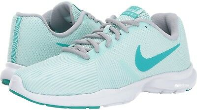 96e8d77a355b2 Nike Womens Flex Bijoux Cross Training Shoe - SZ 7.5 Igloo Clear Jade 881863  301