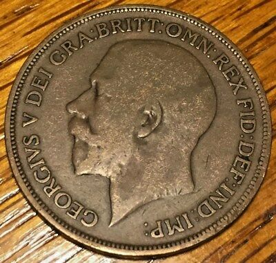 1916 Great Britain One Penny