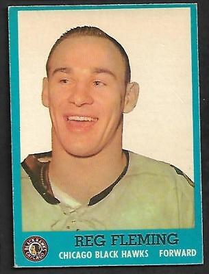 1962-63 Topps Nhl Hockey #42 Reg Fleming, Chicago Black Hawks