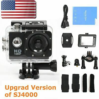 SJ9000 Wifi 4K 1080P Ultra HD 16MP Waterproof 30M Action Camera Sports Camcorder