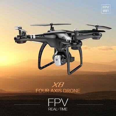 FPV Wifi RC Drone 720P HD Camera 2.4GHz 4CH 6-Axis Altitude Hold Quadcopter Toy