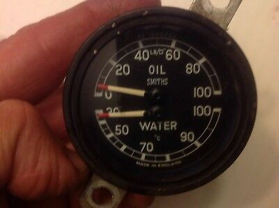 JAGUAR XK150 Safety Gauge / Water Temperature/oil Pressure