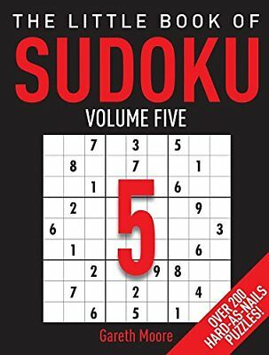 The Little Book of Sudoku 5 by Moore, Gareth Book The Cheap Fast Free Post