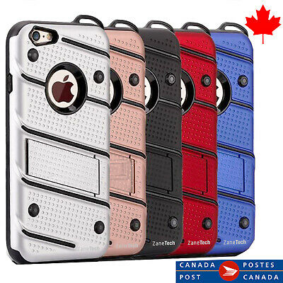 Iphone case All models Cases Heavy Duty Armour - Kickstand -Canadian Shipping