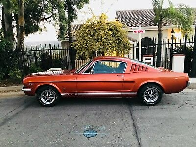 1966 Ford Mustang Fastback 1966 FORD MUSTANG REAL GT FASTBACK AND MATCHJNG NUMBERS