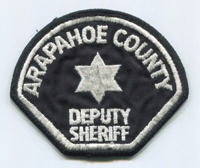 Arapahoe County Sheriffs Office Deputy Patch Colorado Co. Police Department Old