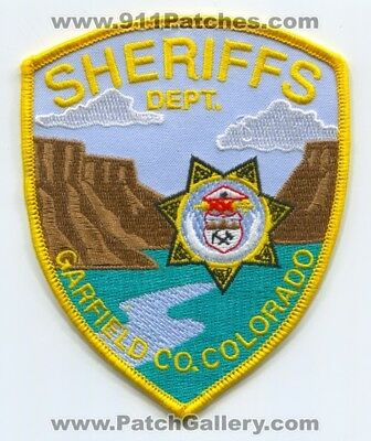 Garfield County Sheriffs Office Patch Colorado Co. Department Dept. New Patches