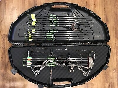 Hoyt Carbon Element Bow 2013 G3 With Air Shox And Rkt Cams 97500