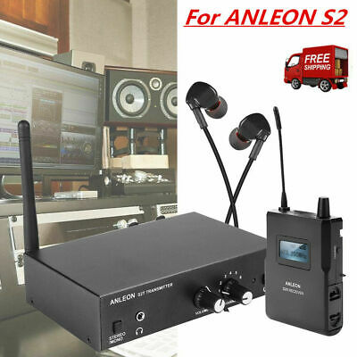 ANLEON S2 UHF In-Ear Wireless Stage Wedge Monitor System Transmitter Receiver CO