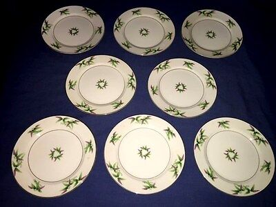 """8 Harmony House MANDARIN 7 1/2"""" Salad Plates ~ Excellent ~ Discontinued"""