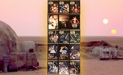 Star Wars™ COMPLETE SAGA Unaltered Cuts THEATRICAL Limited Edition TRILOGY SETS