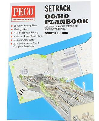 Peco STP-OO Setrack Planbook - 5th edition Peco publications
