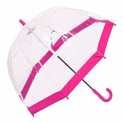 Clifton Childrens Kids PVC Birdcage Pink Border Umbrella