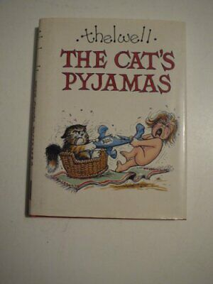 The Cat's Pyjamas by Thelwell Hardback Book The Cheap Fast Free Post